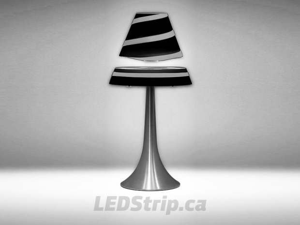 Free Floating Magnetic Lamp