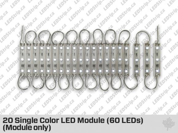 60 Cool White LED Modules (Module Only)