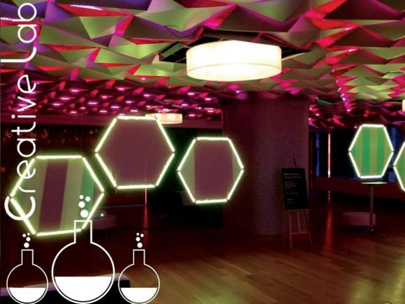 LED visual design by Creative Lab