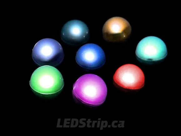 Battery Powered Fairy Berry Fading RGB LED Lights