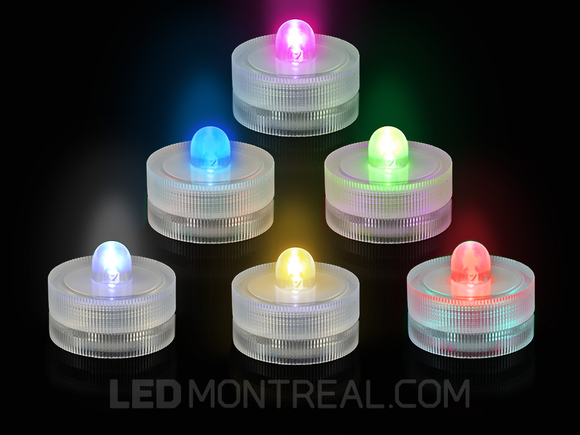 Submersible Battery Powered LED Light Candle