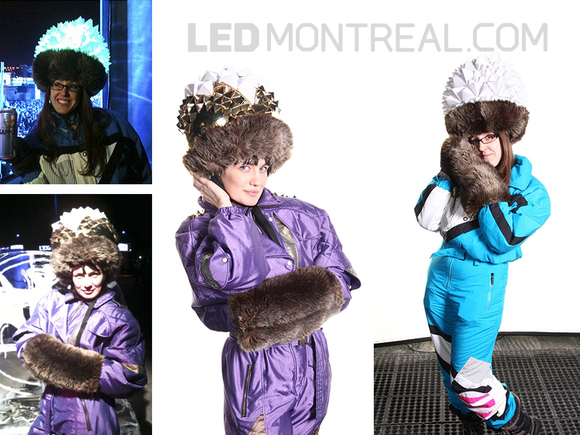 LED Costume at Igloofest