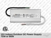 24V iP67 Hard Wired LED Drivers 24W(1A) to 96W(4A)