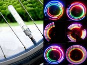 Basic Bicycle wheel LED pattern producer double kit