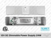 12V Universal Dimmable LED Driver 24W (Class 2)