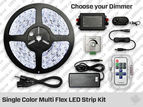Single Color Multi Flex LED Strip Kit