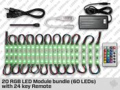 20 RGB LED Module bundle (60 LEDs)