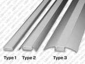 1M U-Shape Rigid Aluminium Bar for LED Strips