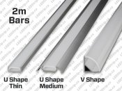 2m Aluminium Bar for LED Strips