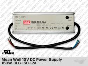 Mean Well Outdoor 12V DC Power Supply 132W 11A (CLG-150-12A)