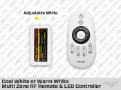 RF Multi Zone Remote and Controller for RGB LED Strips