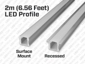 2M U-Shape Rigid Aluminium LED Bar